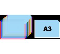 Карман для информации А3 горизонтальный