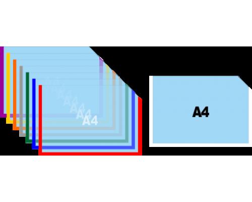 Карман для информации А4 горизонтальный