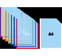 Карман для стендов формата А4 самоклеящийся вертикальный