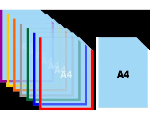 Карман для информации А4 вертикальный