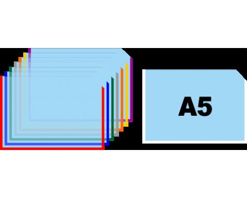 Карман для информации А5 горизонтальный