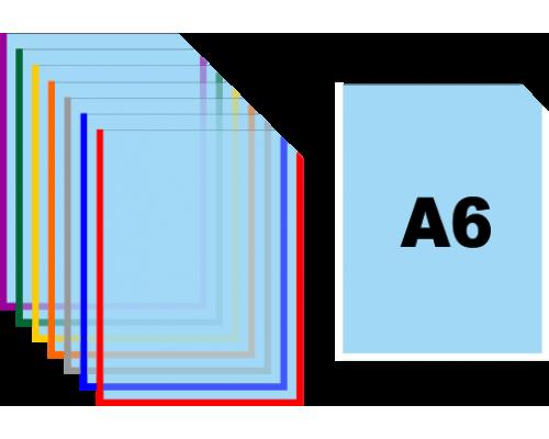 Карман для информации А6 вертикальный