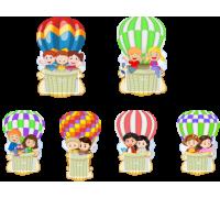 """Комплект стендов  """"Воздушные шары"""""""