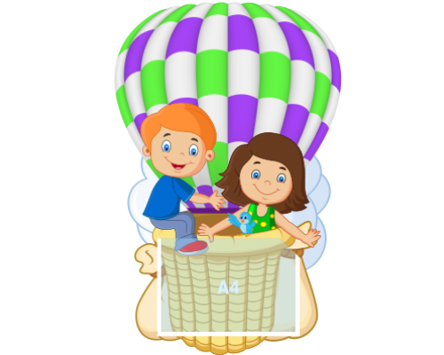 """Стенд  """"Воздушный шар"""""""
