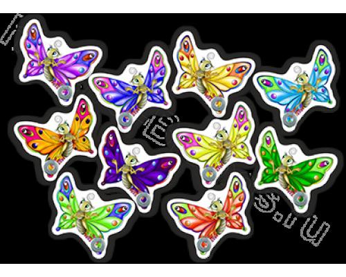 """Стенд для рисунков """"Бабочка"""""""