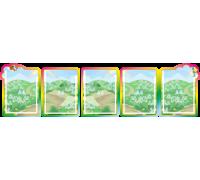 Папка-передвижка (ширма) на 5 вертикальных карманов А4