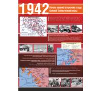 """Стенд """"1943. Начало коренного перелома в ходе Великой Отечественной войны"""""""