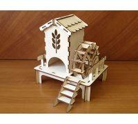 Деревянный чайный домик