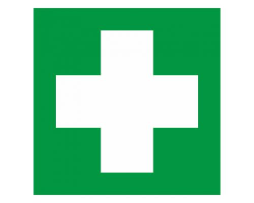 """Наклейка """"Аптечка первой медицинской помощи"""""""