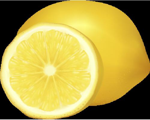 Декоративный стенд в форме лимона