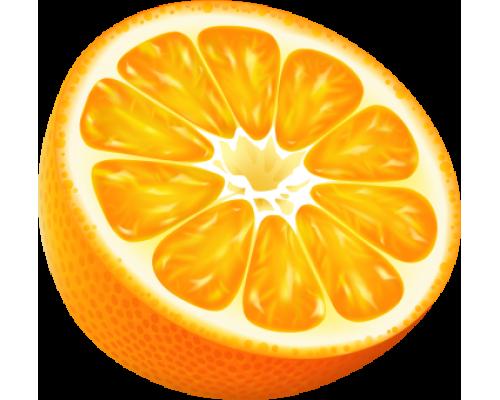 Декоративный стенд в форме апельсина